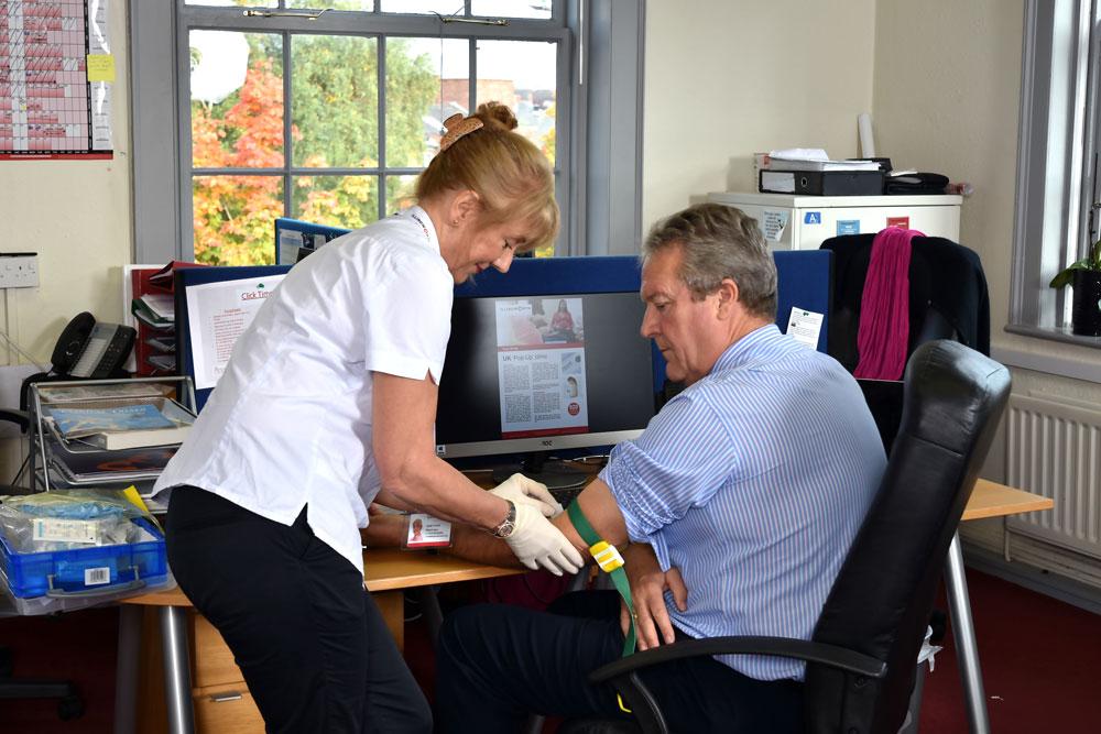 Research Nurses Off-Site