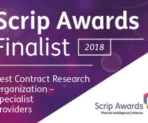 Scrip Award Finalists – Best Specialist CRO Provider