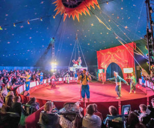 Sponsorship of Circus Starr's Big Top Show and Buxton Opera House